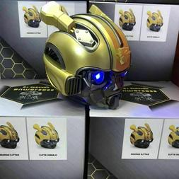 2019 New Wireless Bluetooth Bumblebee Speaker with led,TF sl