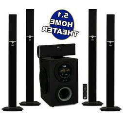 Acoustic Audio AAT3003 Tower 5.1 Home Theater Bluetooth Spea