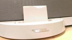 Bluetooth adapter for BOSE Sounddock Series 1 I White speake