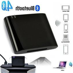 Music Audio Bluetooth Receiver Adapter For iPod 30 Pin Dock