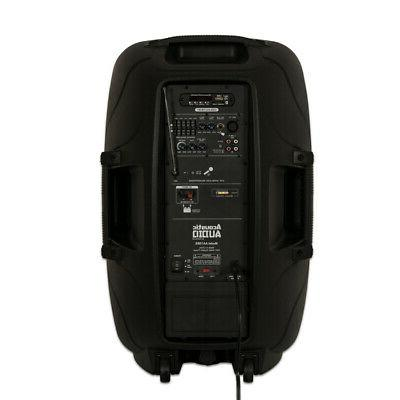"""Acoustic 1000W 15"""" with Battery Stand"""
