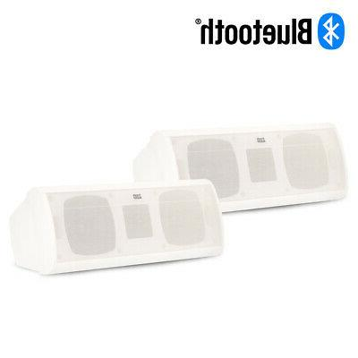 acoustic audio aa40cw bluetooth indoor white powered