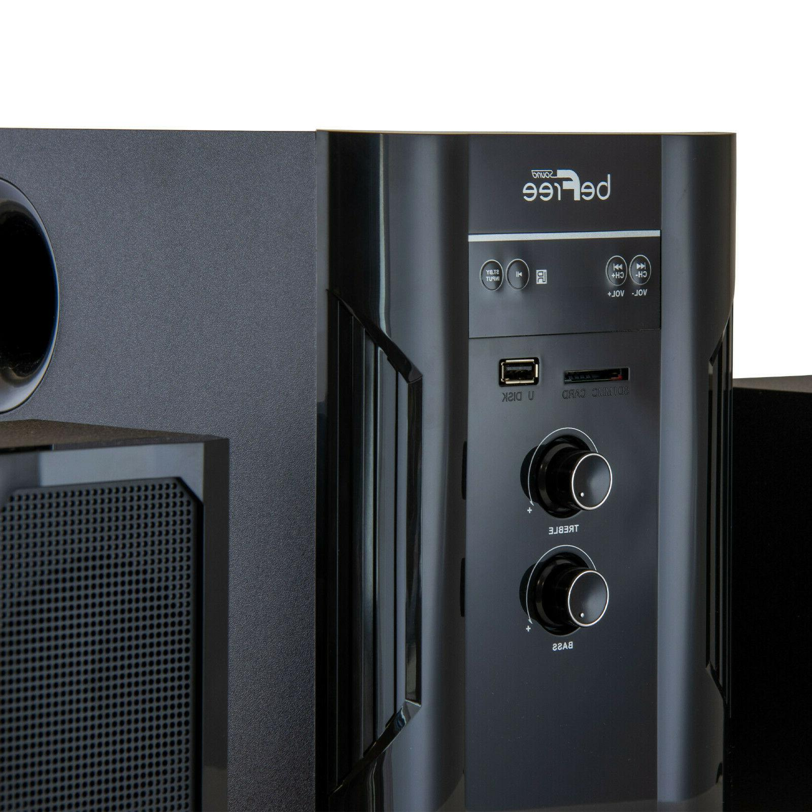 BEFREE BLUETOOTH 2.1 HOME THEATER SPEAKER SD