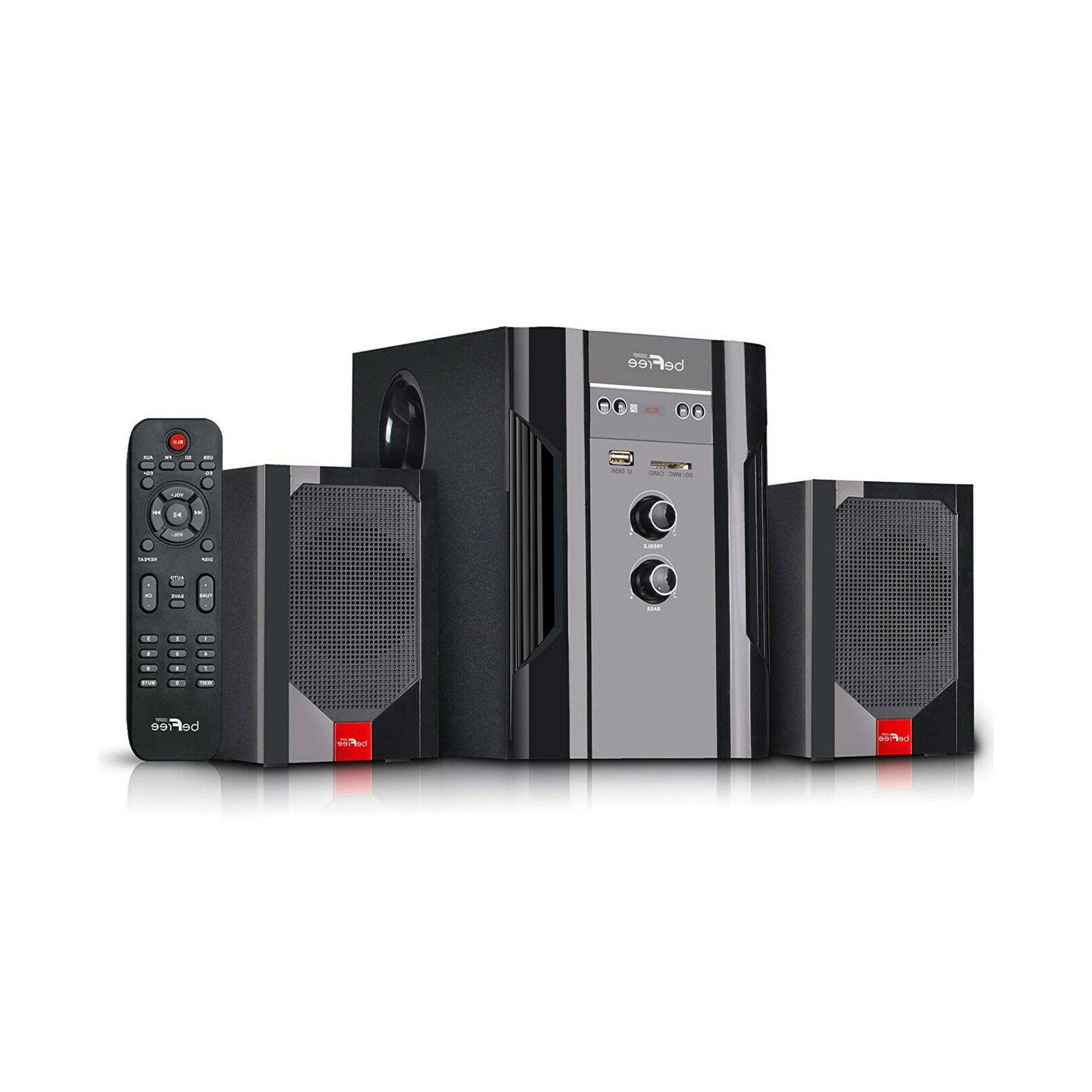 befree bluetooth 2 1 channel home theater