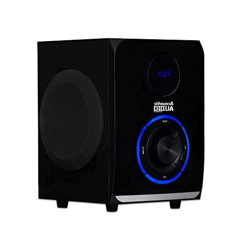 Acoustic Bluetooth System Black