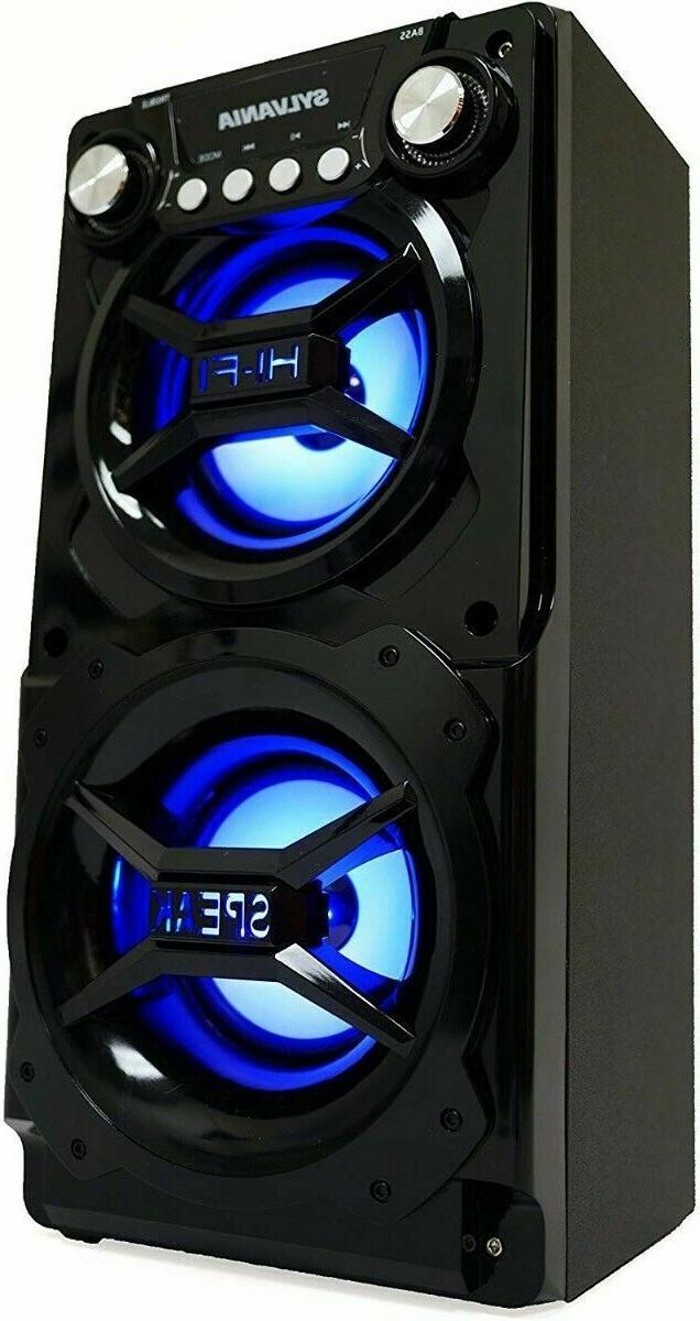 Bluetooth Party Speaker System Big LED Portable Stereo Light