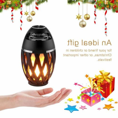 Portable Bluetooth Waterproof Outdoor LED Flame Light
