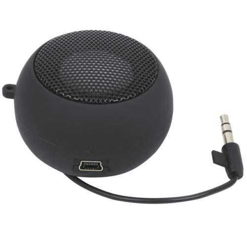 TRIXES Mini Portable Rechargeable Travel Speaker Wired 3.5mm