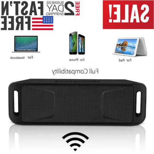 Bluetooth Wireless Outdoor Stereo
