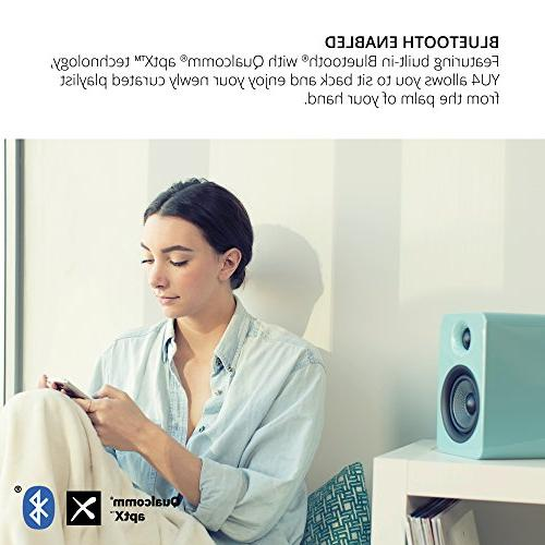 Kanto Speakers with Bluetooth and Preamp