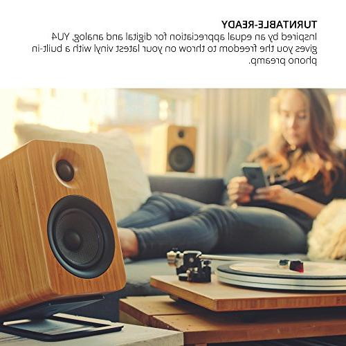 Kanto YU4 with Preamp
