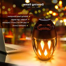 led flame table lamp torch atmosphere bluetooth
