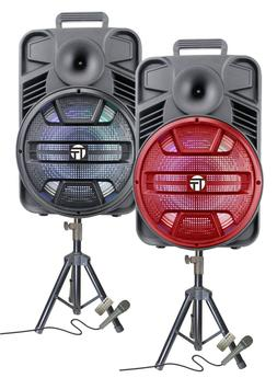 """Multimedia Rechargeable 12"""" Speaker 3000 Watts FREE STAND AN"""