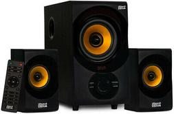 NEW Bluetooth Speaker System 2.1-Channel Acoustic Audio by G