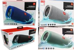 NEW JBL Charge 3 by Harman Portable Bluetooth Speaker IPX7 W