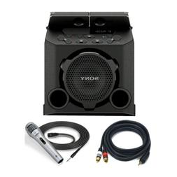 Sony PG10 Portable Bluetooth Outdoor Speaker with Microphone