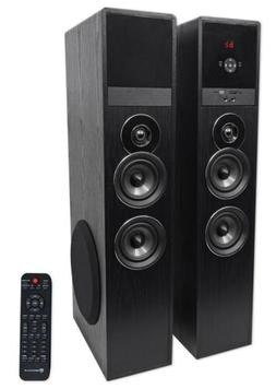 """Tower Speaker Home Theater System+8"""" Sub For Samsung NU7100"""