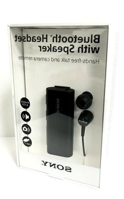 Sony SBH56 Bluetooth NFC One Touch Headset with Speaker Talk