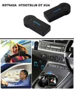 Wired AUX Bluetooth Wireless Audio Receiver/Adapter for Car