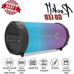 Woozik Portable Bluetooth Speakers Rockit Go / S213 LED Outd